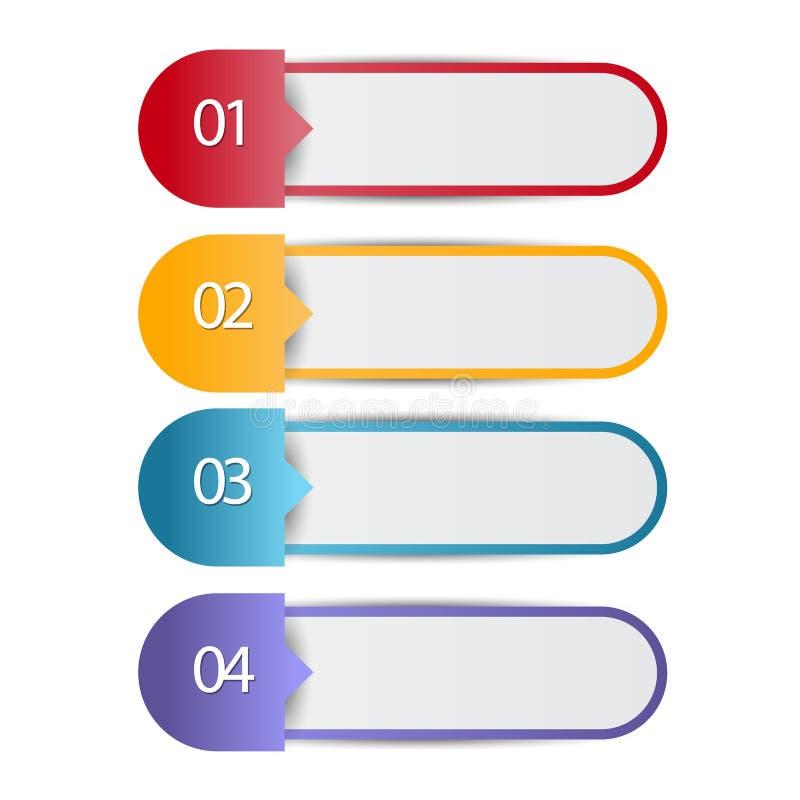 网与数字选择的infographics横幅 图库摄影