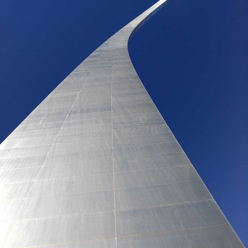 网关曲拱在圣路易斯-美国 库存图片