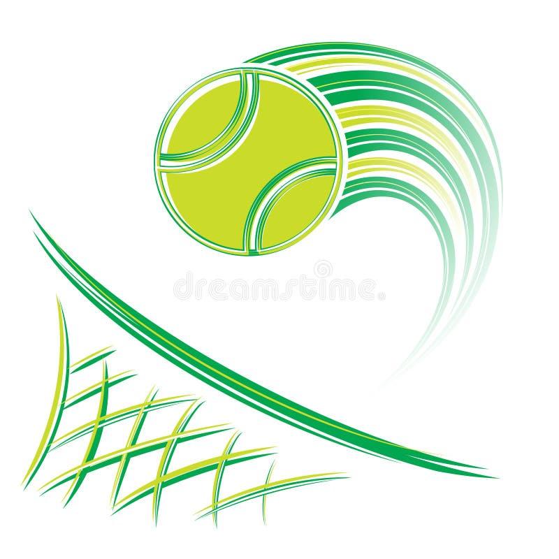 网和排球 库存例证