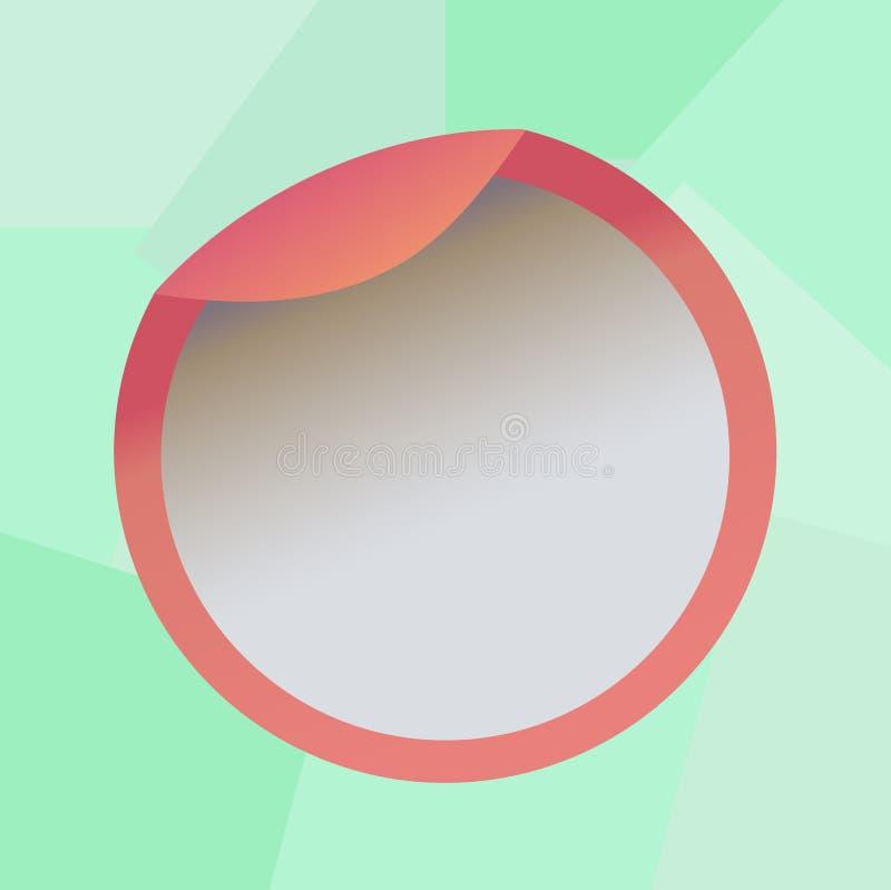 网横幅促销产品的设计企业概念空的拷贝文本假装包装空白的盒盖的模板瓶 向量例证