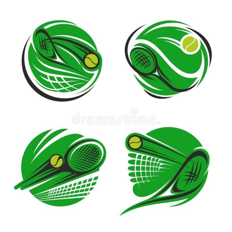主题与球,标志和网的球拍学校体育冬季越野赛网球图片