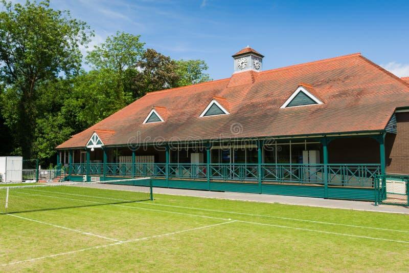 网球中心 库存照片