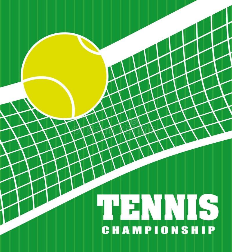 网球体育 皇族释放例证