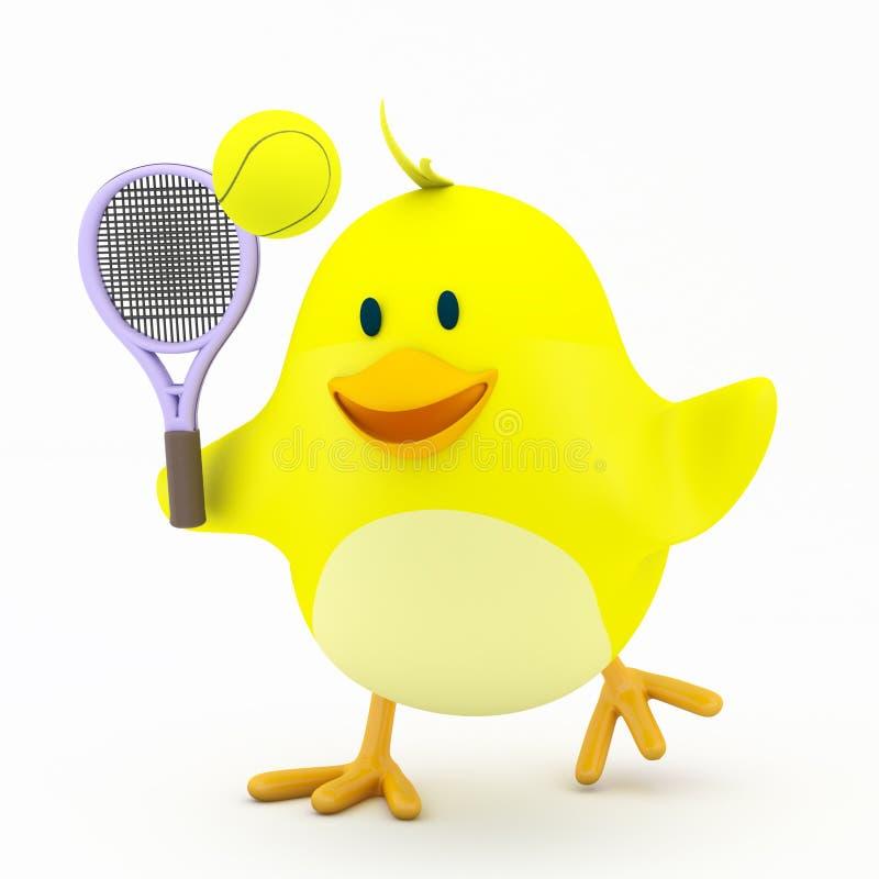 网球员 皇族释放例证