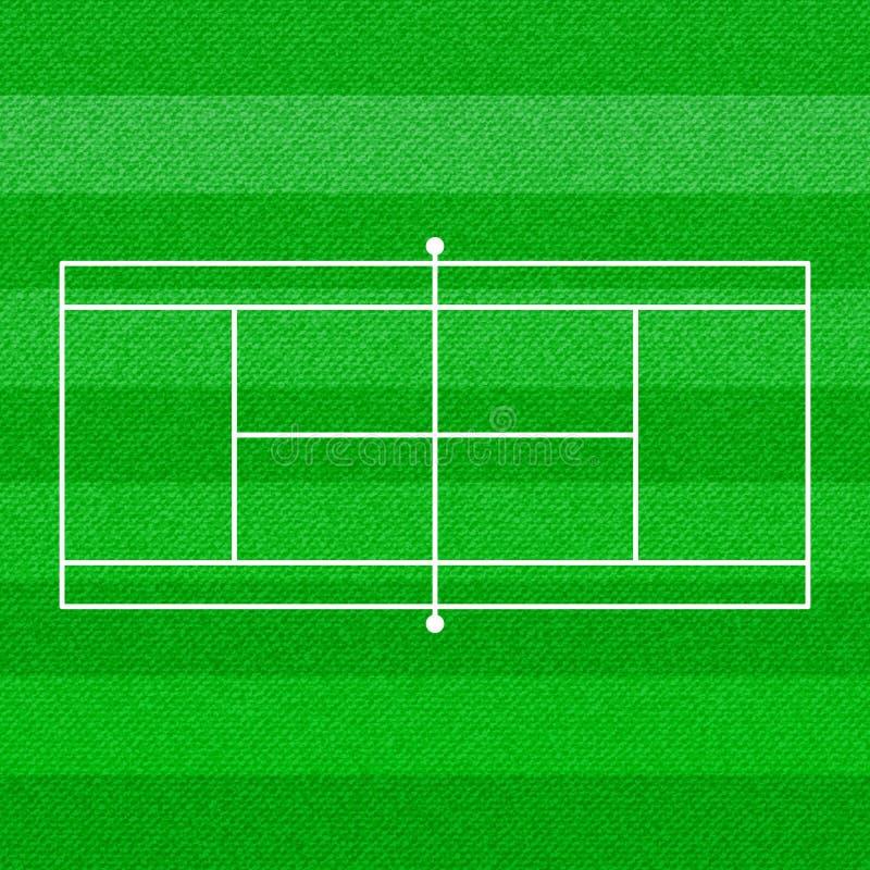 网球场墙纸 向量例证
