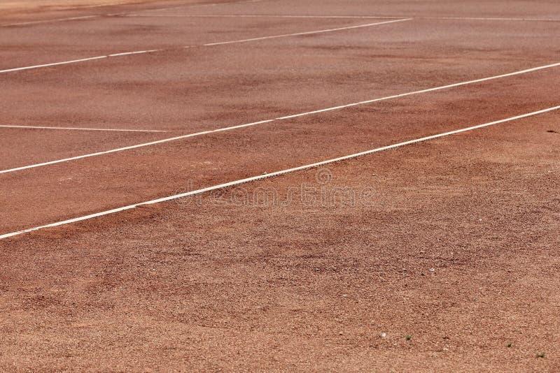 网球场背景 图库摄影