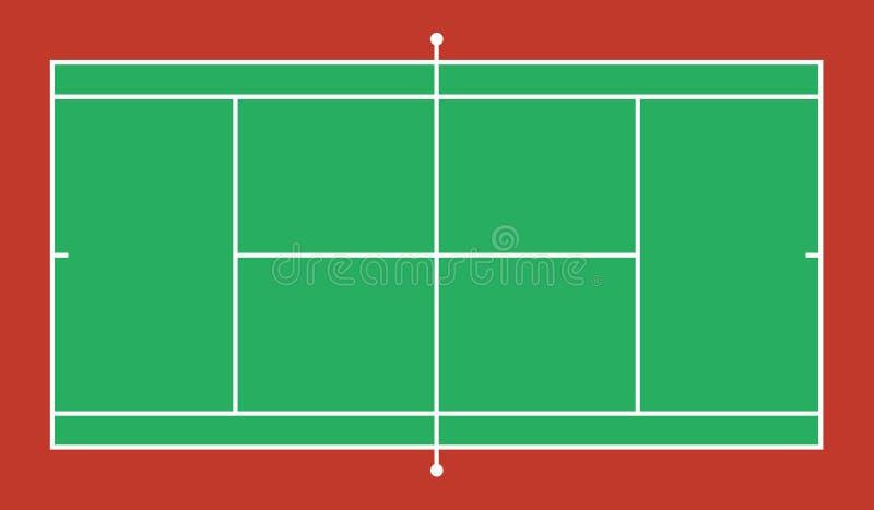 网球场背景 10 eps例证盾向量 向量例证