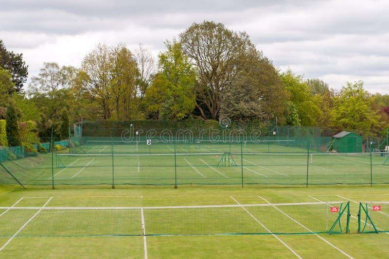 网球复合体 库存照片