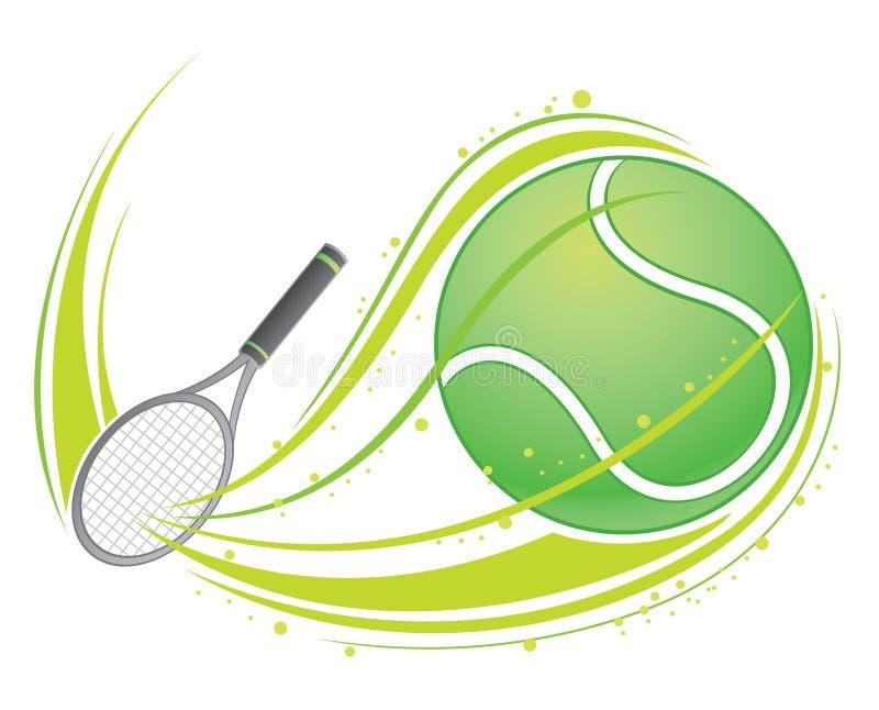网球 皇族释放例证