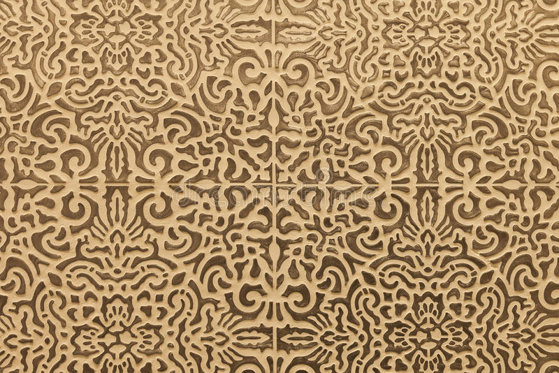 网眼图案无缝的瓦片混凝土墙背景纹理 库存图片