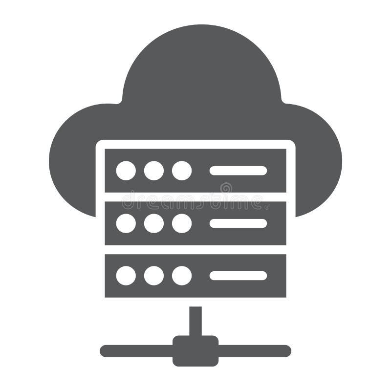 网络主持纵的沟纹象、数据和逻辑分析方法 库存例证