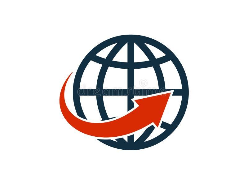 网络全球性象概要概略传染媒介被隔绝的图象 皇族释放例证
