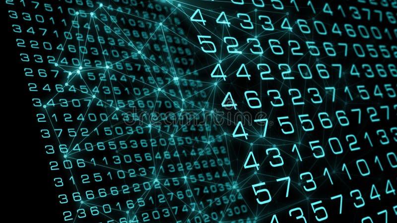 网络安全算法新的人工智能研究 向量例证