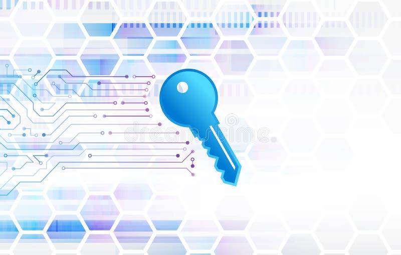 网络数据保密,信息保密性 全球性互联网保护 向量例证