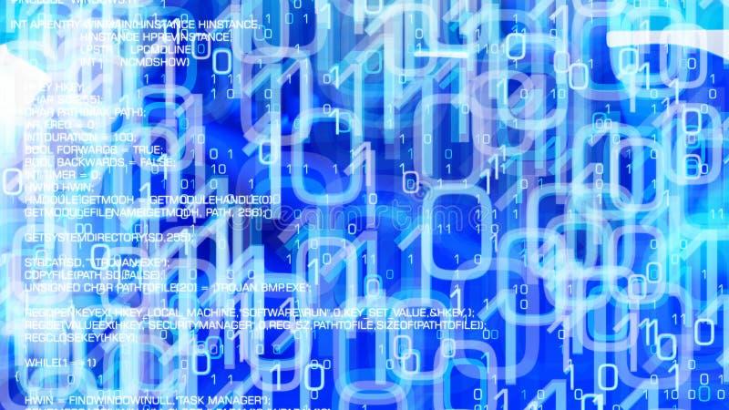 网络科学创新,网络安全网络安全 向量例证