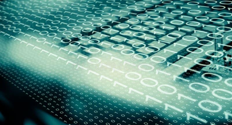 网络罪行,被乱砍的计算机网络 向量例证