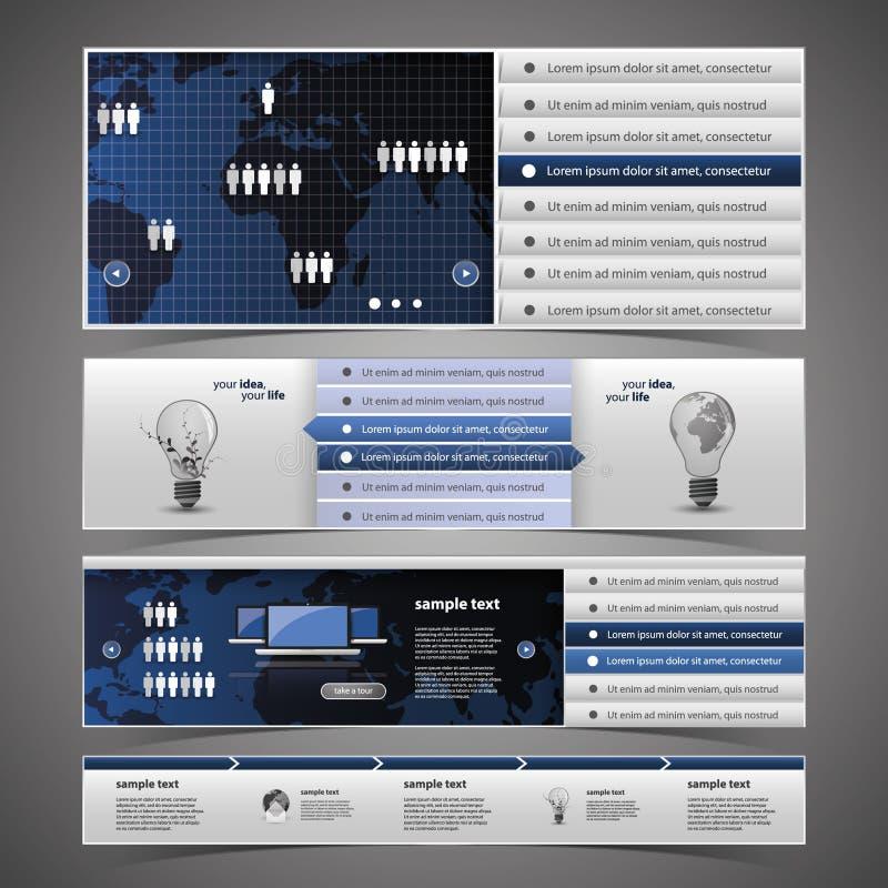 网络设计要素-通信 库存例证