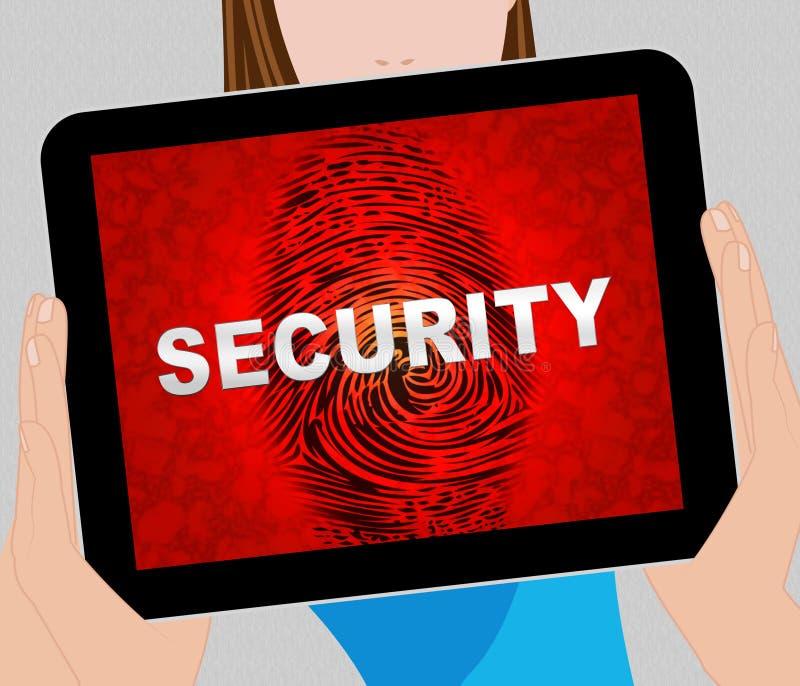 网络证券市场系统保障3d例证 皇族释放例证