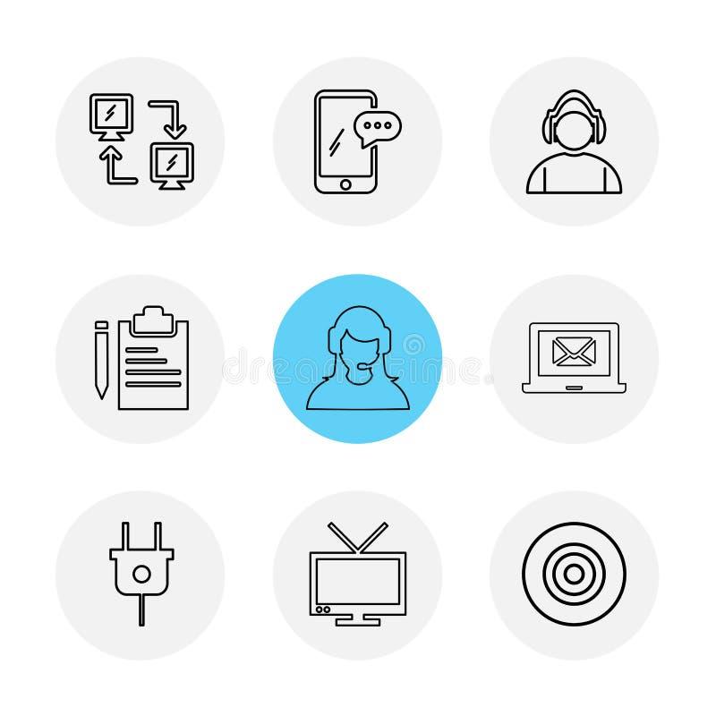 网络,机动性,闲谈,雇员,膝上型计算机,箭,插座, clipb 库存例证