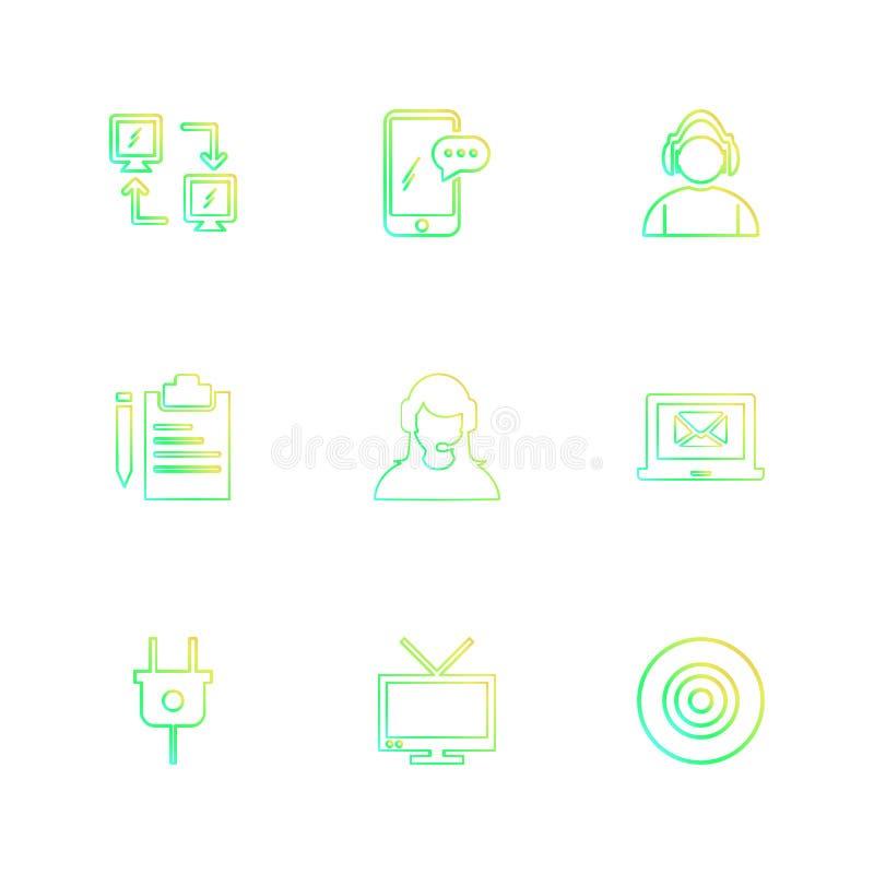 网络,机动性,闲谈,雇员,膝上型计算机,箭,插座, clipb 向量例证