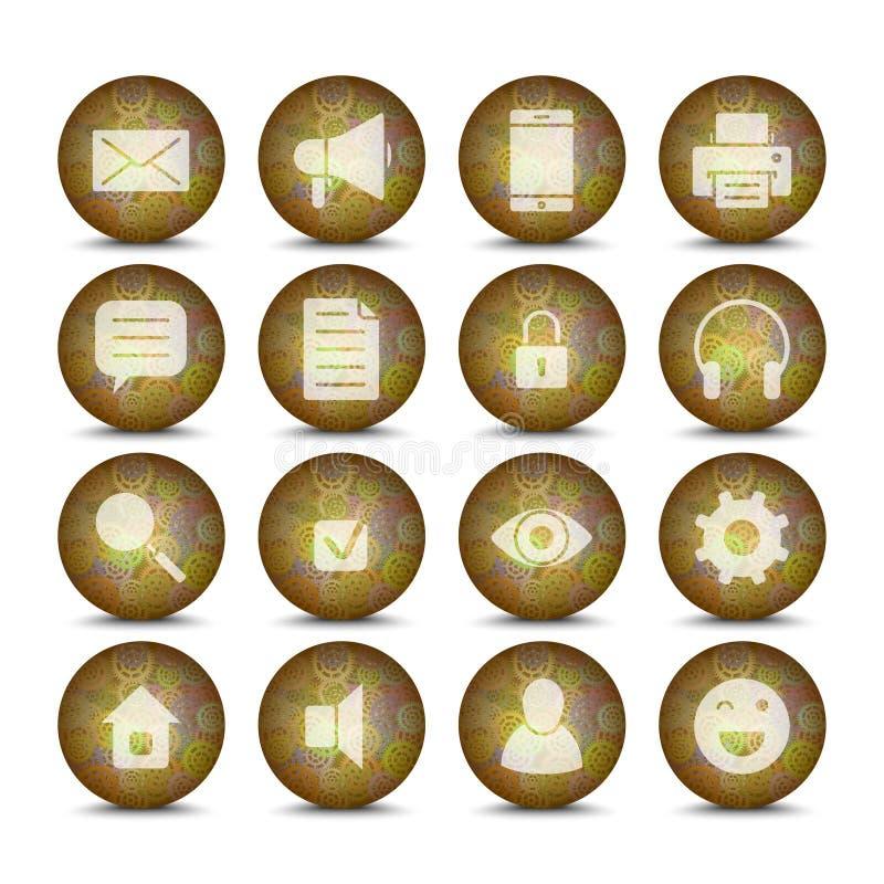 Download 网象设置了7 向量例证. 插画 包括有 商业, 垫铁, 联络, 互联网, 计算机, 钝齿轮, 电子邮件, 文件 - 72356637