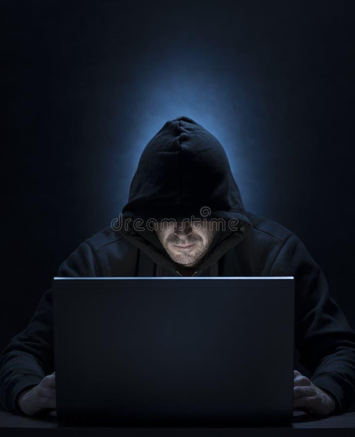 网络入侵者 库存照片