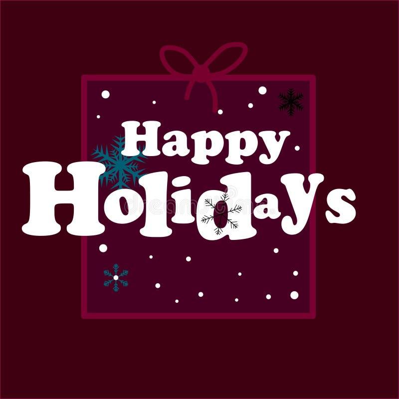 网 圣诞节与礼物的假日背景 向量 向量例证