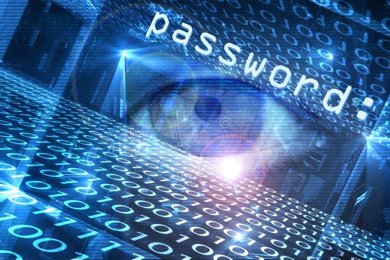 网络安全威胁 向量例证