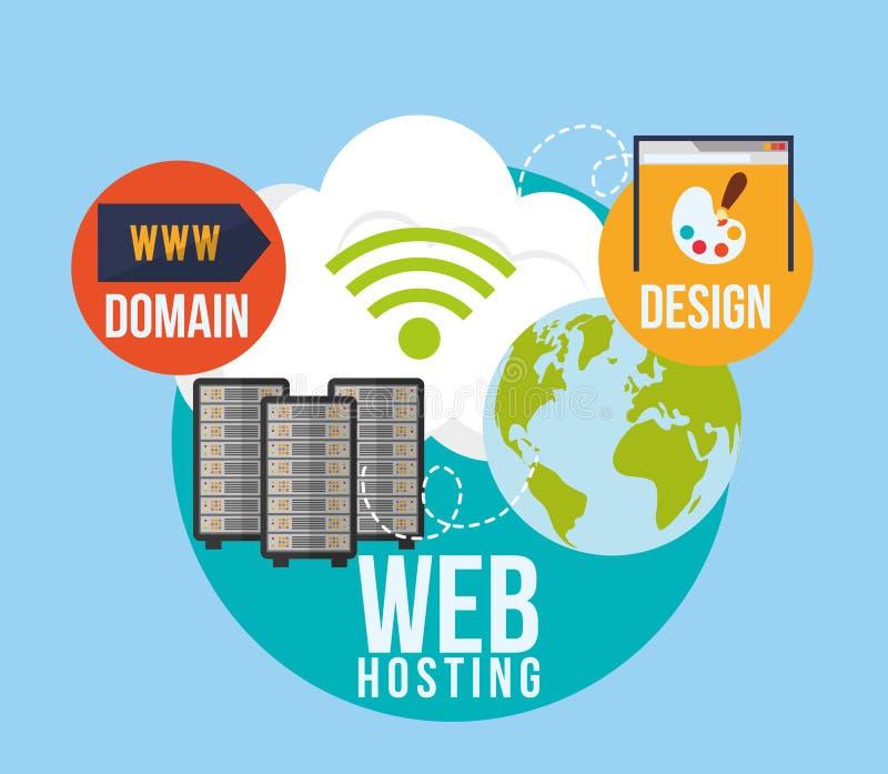 Download 网络主持设计 向量例证. 插画 包括有 危险, 图标, 系统, 概念, 保证, 形状, 防御, 象征性, 风险 - 59104305