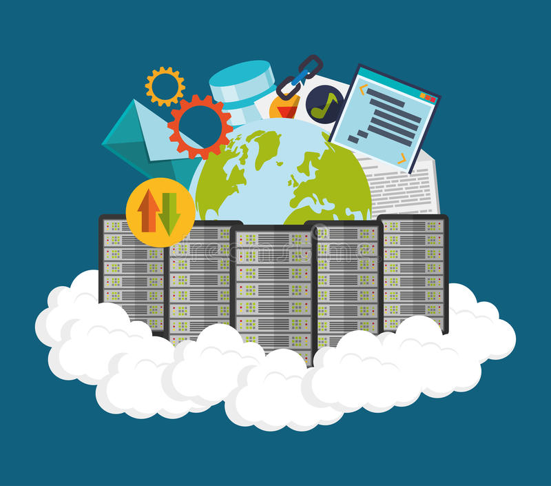 Download 网络主持设计 向量例证. 插画 包括有 投资, 服务, 电话会议, 组织, 保证, 符号, 齿轮, 信包 - 59104327