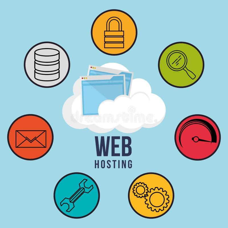 Download 网络主持设计 向量例证. 插画 包括有 保证, 齿轮, 测量仪, 适应, 安全性, 主持, 投资, 组织 - 59104430