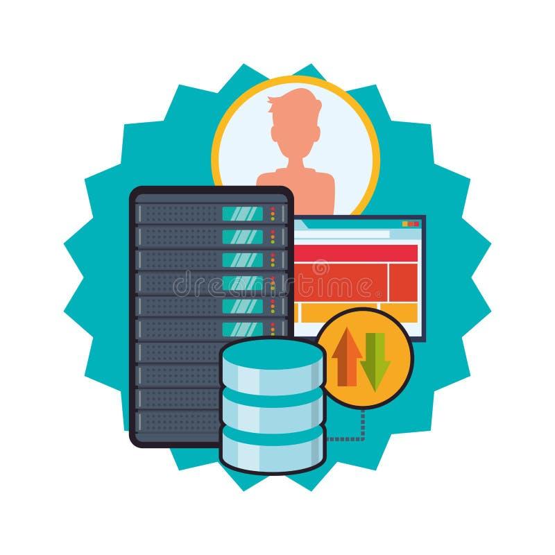 Download 网络主持设计 向量例证. 插画 包括有 投资, 互联网, 组织, 象征性, 概念, 巩固, 风险, 符号 - 59104433