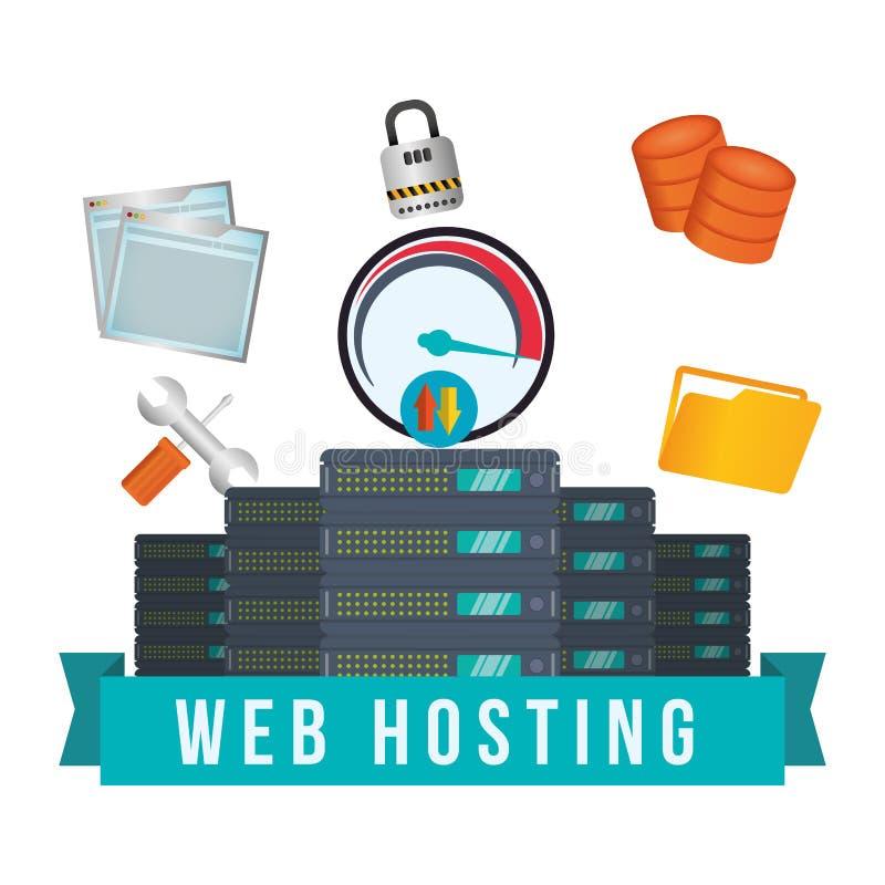 Download 网络主持设计 向量例证. 插画 包括有 信息, 挂锁, 保护, 安全, 互联网, 想法, 图标, 保证, 文件 - 59104458