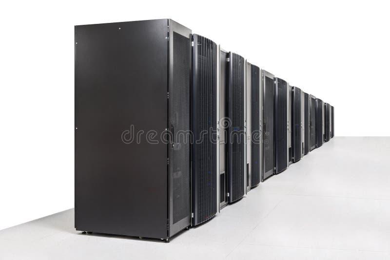 网络服务系统室 库存图片