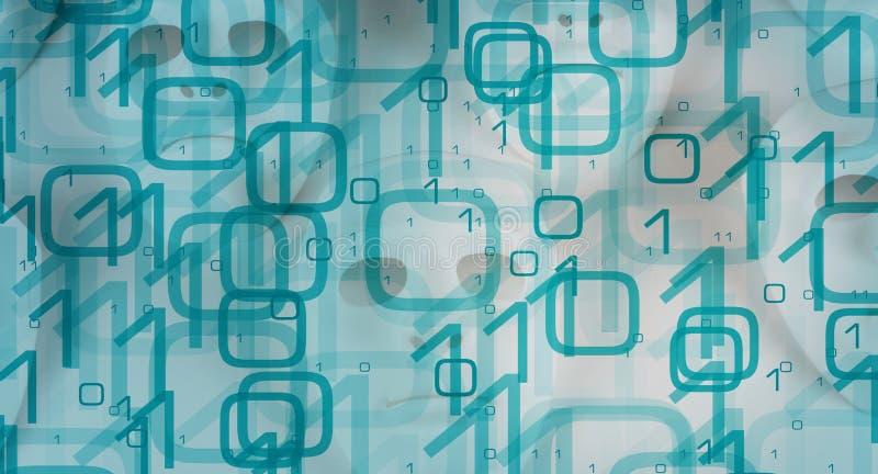 网络空间概念大数据保密 免版税库存图片