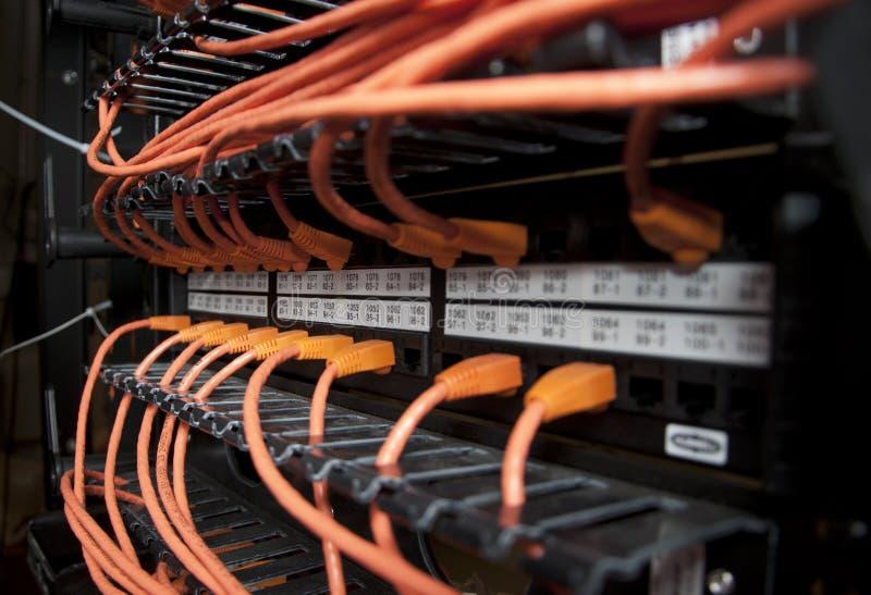 网络缆绳 免版税图库摄影