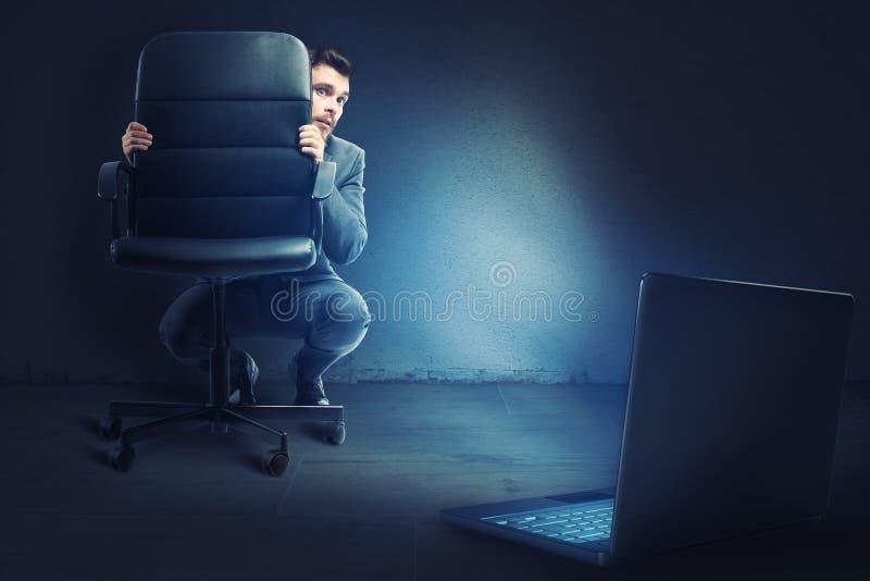 网络胁迫 库存图片