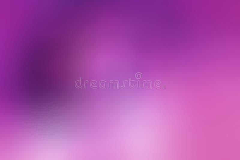 网络设计的紫色令人敬畏的抽象迷离背景 库存例证