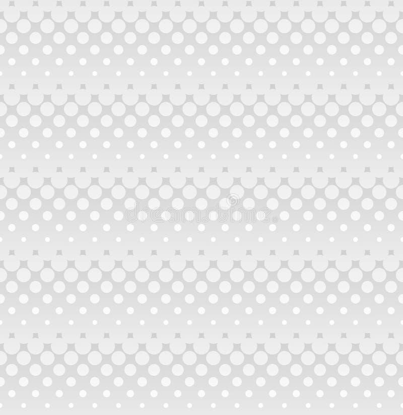 网络设计的Ligh灰色半音无缝的样式 皇族释放例证