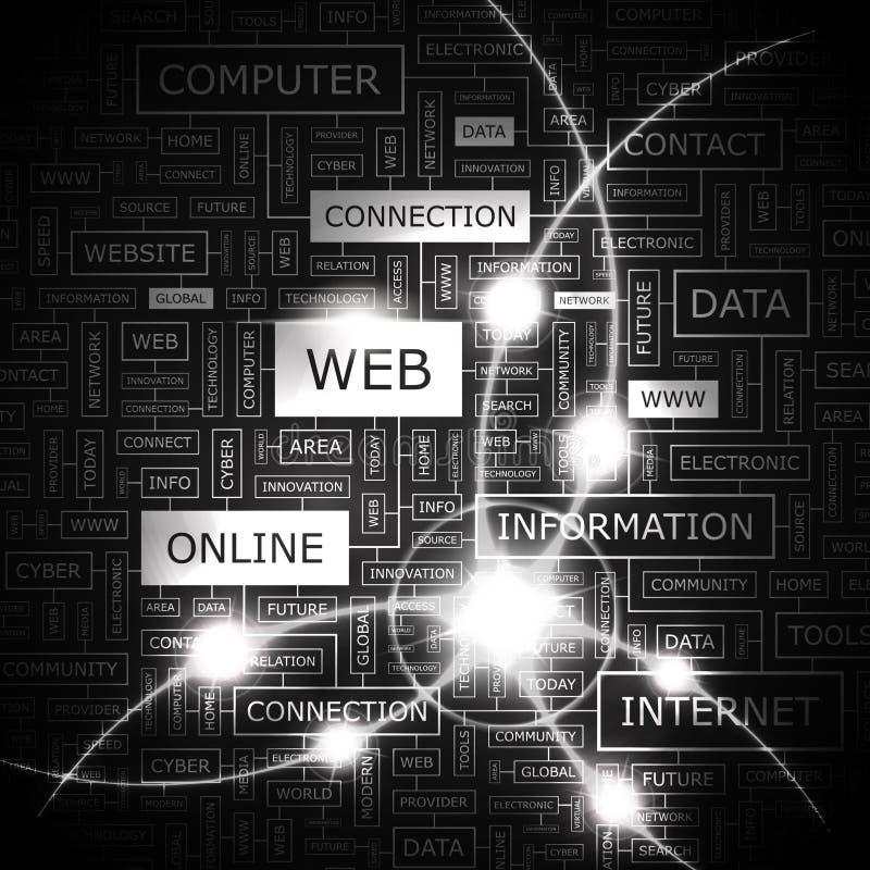 网 向量例证