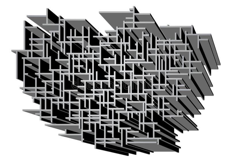 Download 罕见的迷宫 向量例证. 插画 包括有 迷宫, ,并且, 的确, 噪声, 向量, 背包, 唯一, 混乱, 混淆 - 30338089