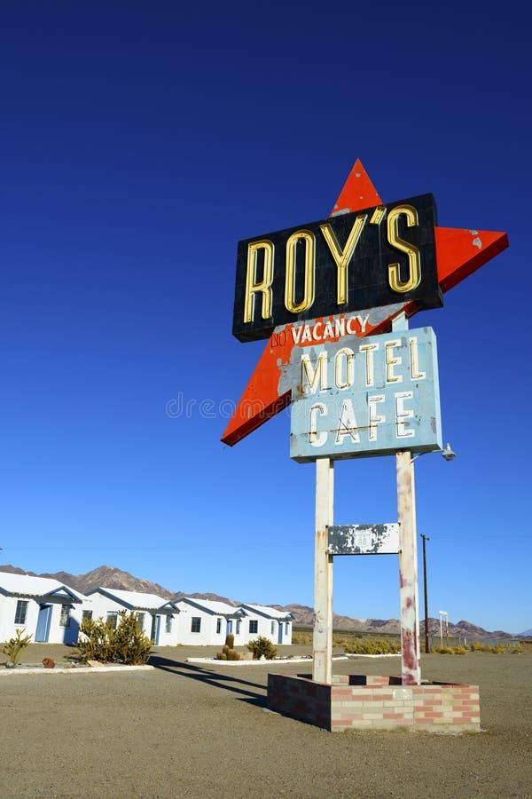 罗伊的咖啡馆 库存图片