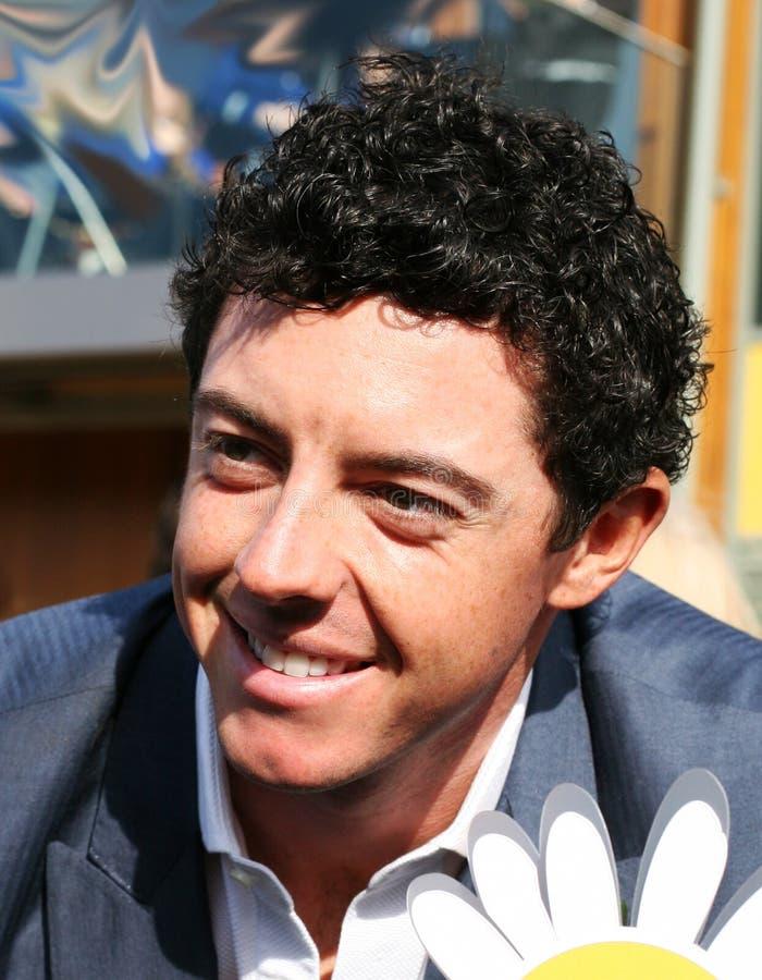 罗伊・麦克罗伊世界冠军高尔夫球运动员 免版税库存照片