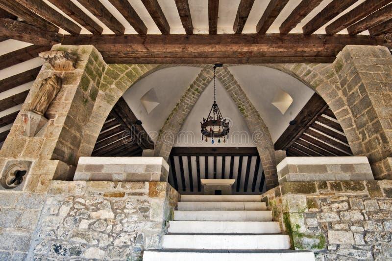 罗兰特桌在罗马教堂圣斯皮里图斯市里 免版税库存照片
