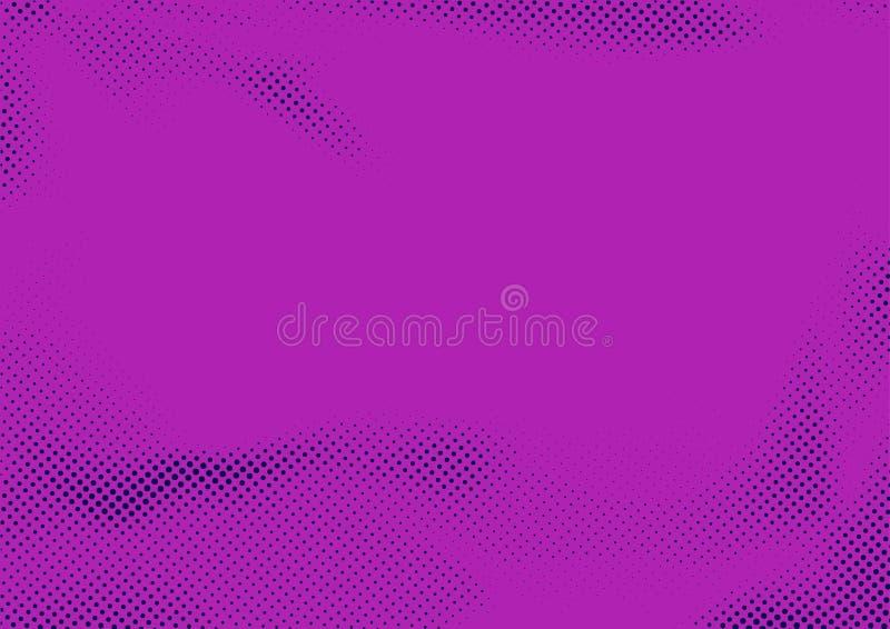 紫罗兰色抽象现代被加点的困厄的流行艺术布局 图象 皇族释放例证