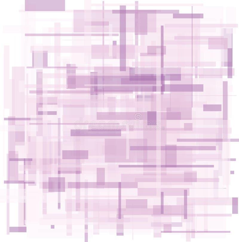 紫罗兰色lila紫色背景 库存例证