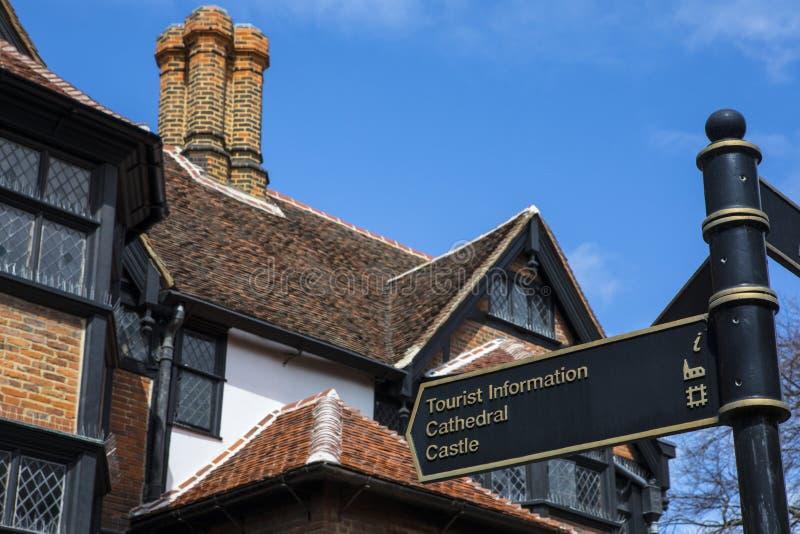 罗切斯特在肯特,英国 库存照片