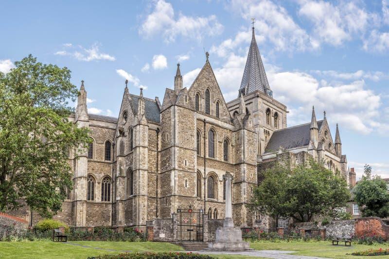 罗切斯特大教堂 免版税库存照片