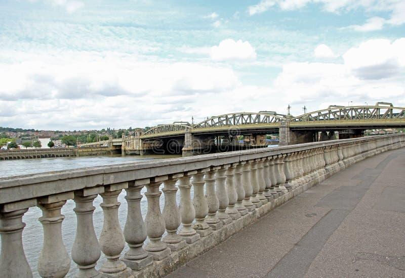 罗切斯特桥梁 免版税库存图片