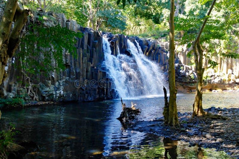 罗切斯特瀑布,毛里求斯苏亚克 库存照片